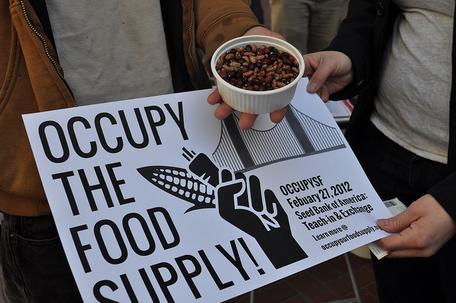 Occupy food supply
