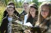 Students work on collecting data at Argonne National Laboratory