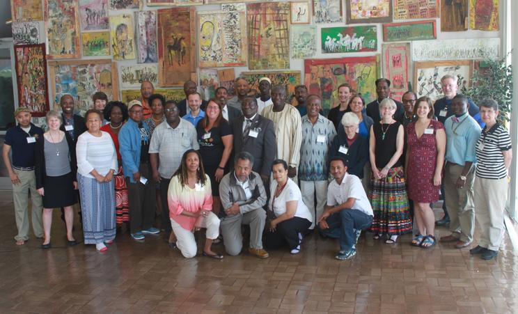 Pan-African Approaches to Teaching Geoscience Workshop Participants