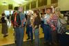 Workshop participants mingle at the InTeGrate Engineering and the Geosciences workshop