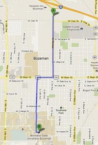 Bozeman Map