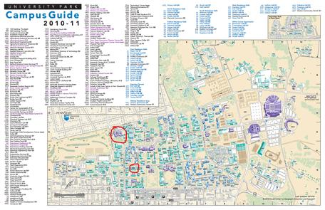 PSU Campus Map