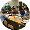 PCC students circle