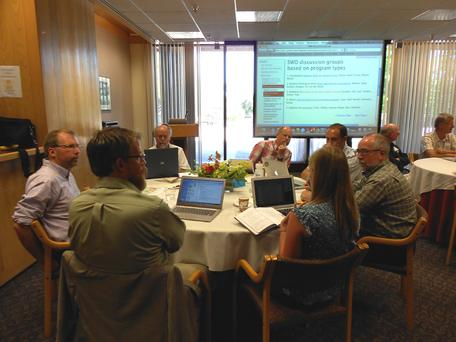 SWO discussion group, 2012 InTeGrate programs workshop
