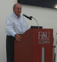 Dr. Leonard Berry delivers the keynote address