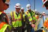 Tour of Folsom Dam auxiliary spillway