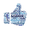social media science like wordcloud