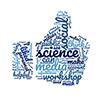 social media science like wordcloud