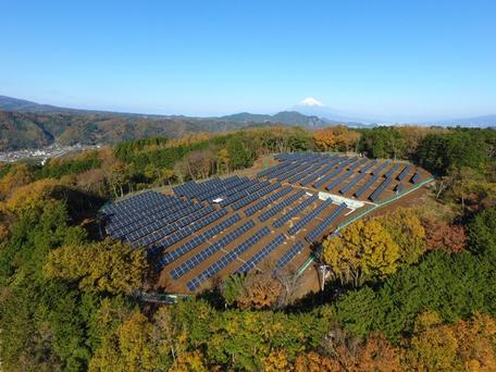 Solar plant in Japan