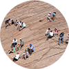 William_mary_geology_student_circle