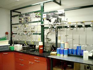 The Carbon-14 lab at the University of Minnesota