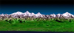Kamchatka Topography