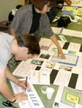 Producing presentation materials