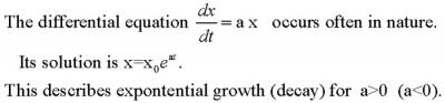 ExponentialDiffEQand solution