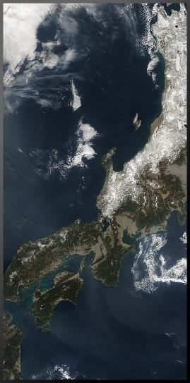 The  Nankai Trough area.  Photo courtesy Jeff Schmaltz, MODIS Rapid Response Team, NASA/GSFC