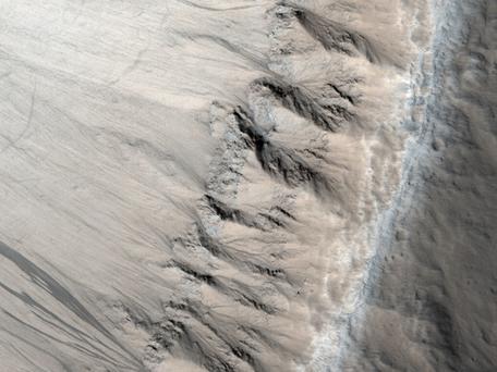 Columnar Joints Mars