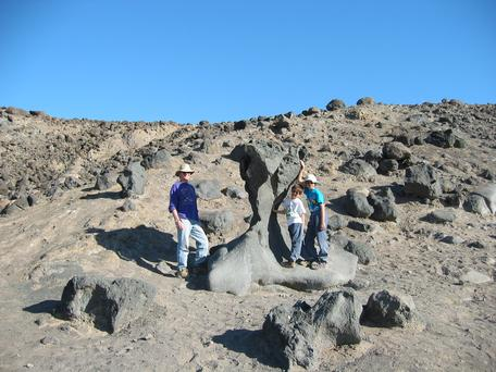 Death Valley ventifact
