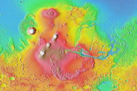 MOLA Shaded Relief Map