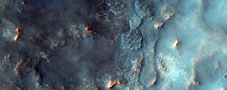 Noachian terrain as imaged by HiRISE
