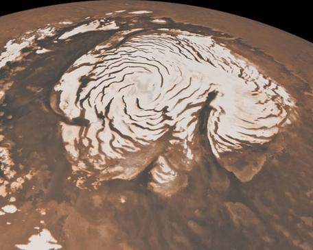Northern Ice Cap of Mars