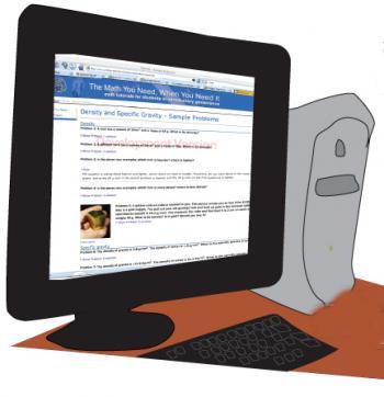 cartoon of computer