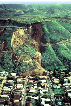 La Conchita Landslide (USGS photo)