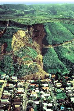 La Conchita Landslide (USGS photo)