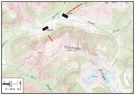 Pioneer ridge map