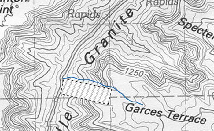 Garces Terrace line (Grand Canyon)