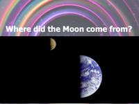 Where did the Moon come from? front slide
