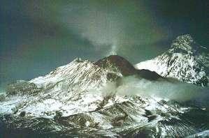 Bezymianny, one of Kamchatka's many active volcanoes