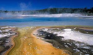 Sunset Lake, Yellowstone National Park