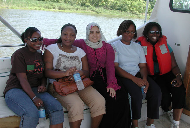 Research cruise from the Smithsonian Environmental Research Center.