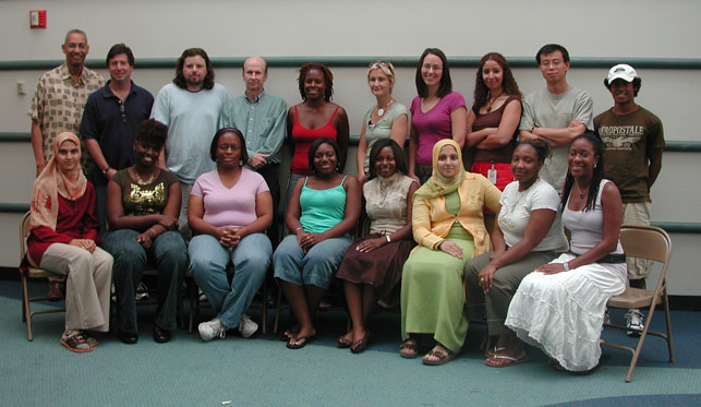 Participant and instructors in the SMaRt course in the summer of 2006.