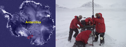 Header picture for the McMurdo Dry Valleys Project