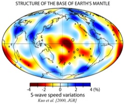 Structure of the Base of Earth\