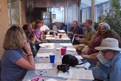 Image from workshop on ConcepTests lead by David Steer and David McConnell at SW Section Field Conference.