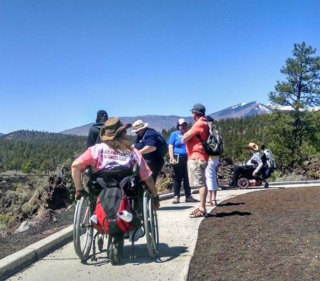 Accessible Field Trip to Sunset Crater