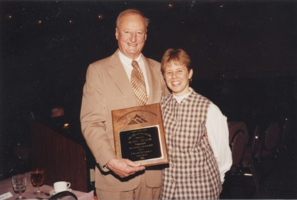 James J. Skinner with Neil Miner Award