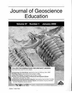 JGE Jan 09 Cover