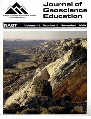 Cover of November 2000 JGE