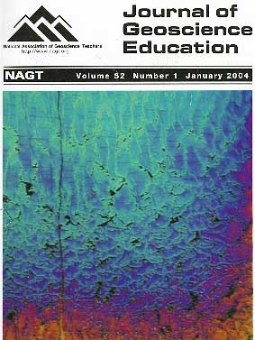 Cover of January 2004 JGE