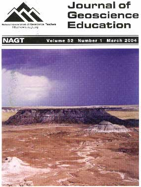 Cover of March 2004 JGE