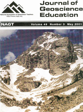 Cover of May 2001 JGE issue