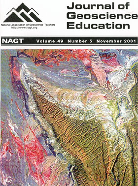 Cover of November 2001 JGE