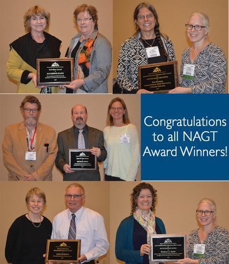 NAGT Award Winners