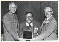 Orrin H. Pilkey Recieving James Shea Award