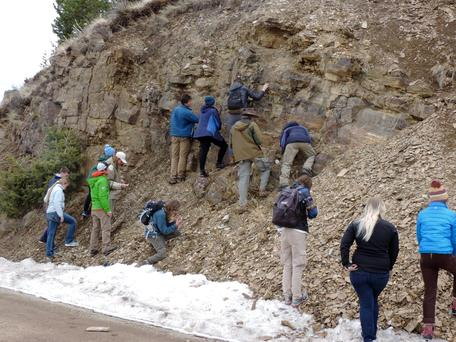 Mineralogy Field Trip to Black Butte 1