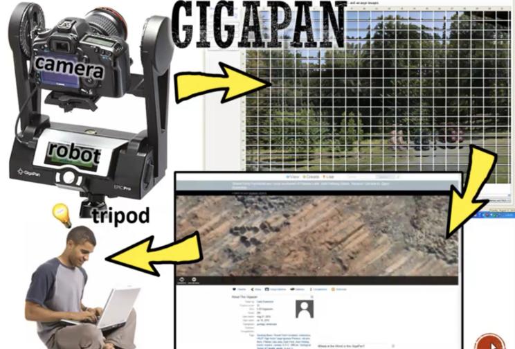 Gigapan image