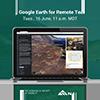 Google Earth Webinar Social Media Image